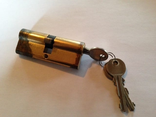 eurolock with keys
