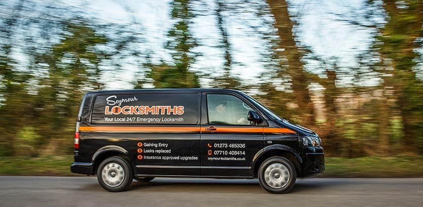 Jeff Seymour Locksmiths Shoreham Van